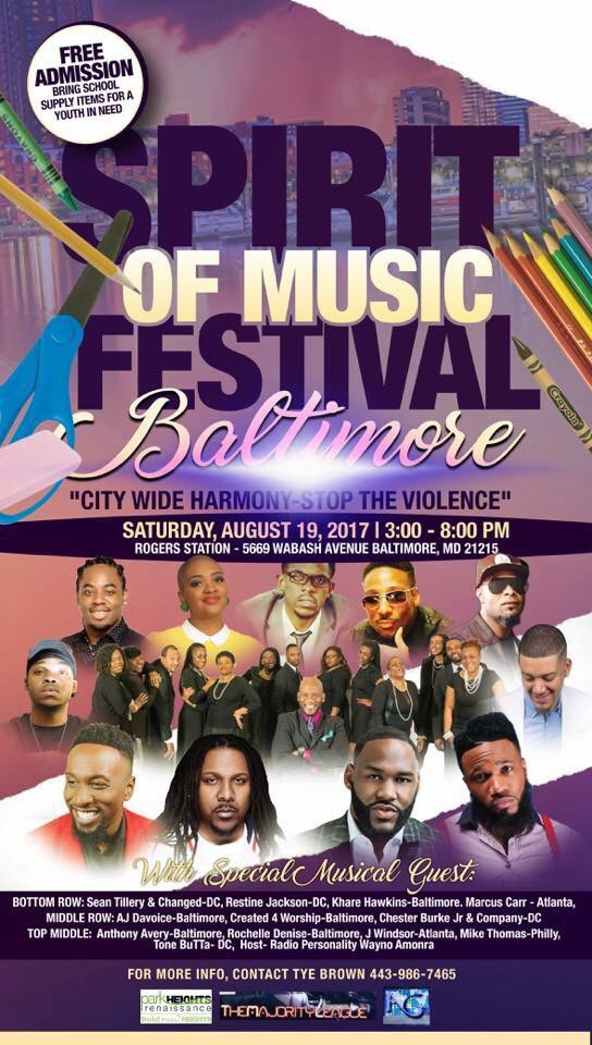 c47222578c50f Be a part of Spirit of Music Festival Saturday